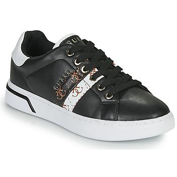 Schoenen Dames Lage sneakers Guess REEL Zwart