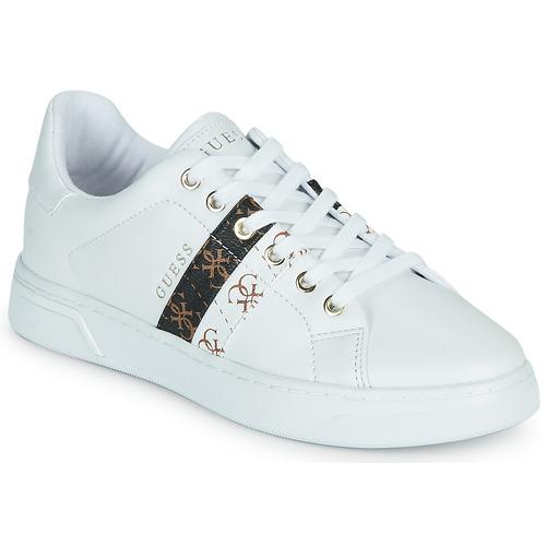 Schoenen Dames Lage sneakers Guess REEL Wit