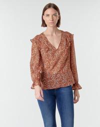 Textiel Dames Tops / Blousjes Naf Naf  Multi