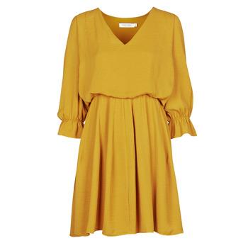Textiel Dames Korte jurken Naf Naf  Geel