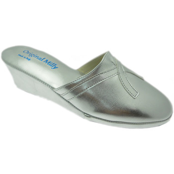 Schoenen Dames Klompen Milly MILLY2000arg grigio