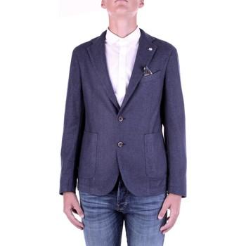 Textiel Heren Jasjes / Blazers Manuel Ritz 2932G2728TW-203507 Blu