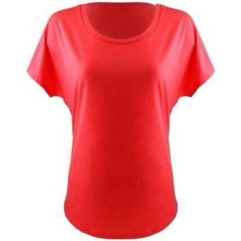 Textiel Dames T-shirts korte mouwen Next Level NX1560 Rood