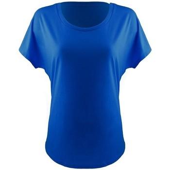 Textiel Dames T-shirts korte mouwen Next Level NX1560 Koningsblauw