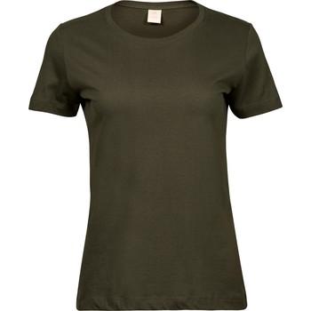 Textiel Dames T-shirts korte mouwen Tee Jays T8050 Olijfgroen
