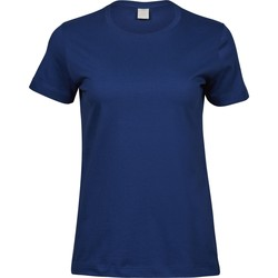 Textiel Dames T-shirts korte mouwen Tee Jays T8050 Indigoblauw