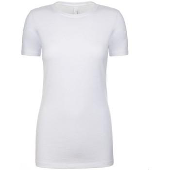 Textiel Dames T-shirts korte mouwen Next Level NX6610 Wit