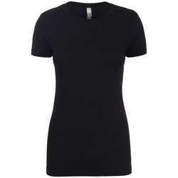 Textiel Dames T-shirts korte mouwen Next Level NX6610 Zwart