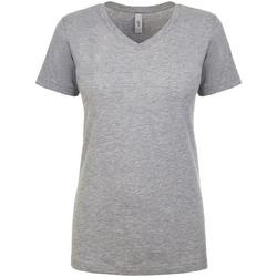 Textiel Dames T-shirts korte mouwen Next Level NX1540 Heide Grijs