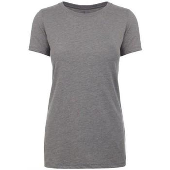 Textiel Dames T-shirts korte mouwen Next Level NX6610 Donkere Heide Grijs