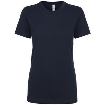 Textiel Dames T-shirts korte mouwen Next Level NX1510 Middernacht marine