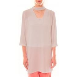 Textiel Dames Korte jurken La Vitrine De La Mode Robe 156 By La Vitrine Beige Beige
