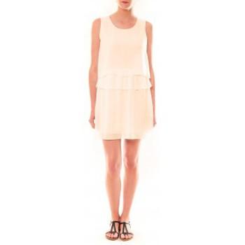 Textiel Dames Korte jurken La Vitrine De La Mode Robe TROIS By La Vitrine Beige Beige