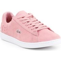 Schoenen Dames Lage sneakers Lacoste Carnaby EVO 318 4 7-36SPW001213C pink