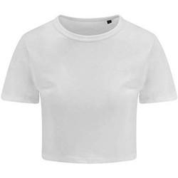 Textiel Dames T-shirts korte mouwen Awdis JT006 Massief Wit