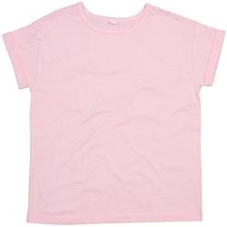 Textiel Dames T-shirts korte mouwen Mantis M193 Zacht Roze