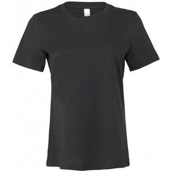 Textiel Dames T-shirts korte mouwen Bella + Canvas BL6400 Donkergrijs