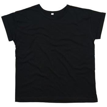 Textiel Dames T-shirts korte mouwen Mantis M193 Zwart