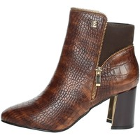 Schoenen Dames Enkellaarzen Laura Biagiotti 6580 Brown leather