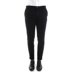 Textiel Heren Chino's Re-hash P249-2076 Black