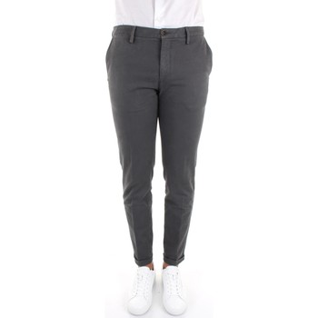 Textiel Heren Chino's Re-hash P249-2076 Grey