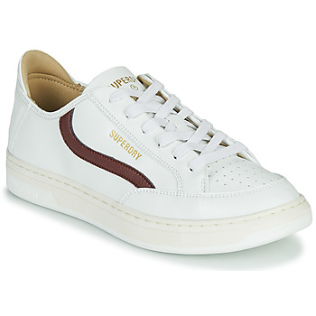 Schoenen Heren Lage sneakers Superdry BASKET LUX LOW TRAINER Wit