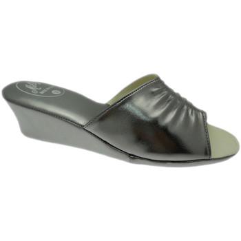 Schoenen Dames Leren slippers Milly MILLY1805pio grigio