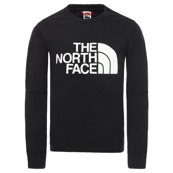 Textiel Jongens Sweaters / Sweatshirts The North Face DREW PEAK LIGHT CREW Zwart