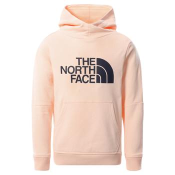 Textiel Meisjes Sweaters / Sweatshirts The North Face DREW PEAK HOODIE 2.0 Roze