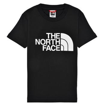 Textiel Jongens T-shirts korte mouwen The North Face EASY TEE Zwart