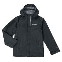 Textiel Jongens Wind jackets Columbia WATERTIGHT JACKET Zwart