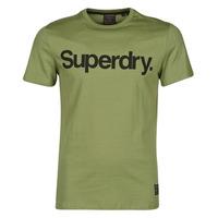 Textiel Heren T-shirts korte mouwen Superdry MILITARY GRAPHIC TEE 185 Kaki