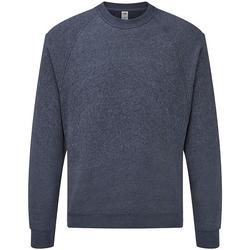 Textiel Sweaters / Sweatshirts Fruit Of The Loom SS8 Heather Marine