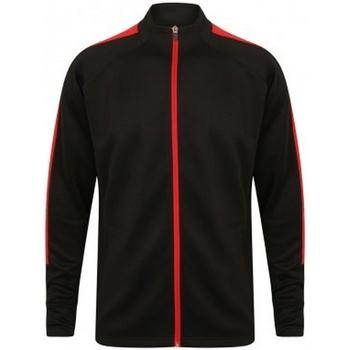 Textiel Heren Trainings jassen Finden & Hales  Zwart/Rood