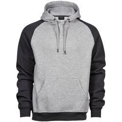 Textiel Heren Sweaters / Sweatshirts Tee Jays T5432 Heide Grijs/Donkergrijs