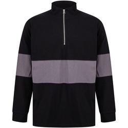 Textiel Truien Front Row FR06M Zwart/Kool