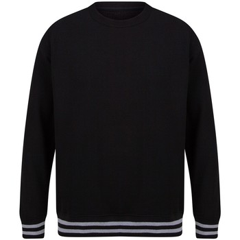 Textiel Sweaters / Sweatshirts Front Row FR840 Zwart/Heather Grey
