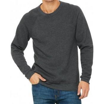 Textiel Heren Sweaters / Sweatshirts Bella + Canvas CV3901 Donkergrijze heide