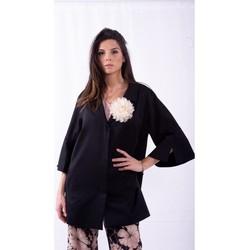 Textiel Dames Mantel jassen Persona By Marina Rinaldi TIBET Kleurloos