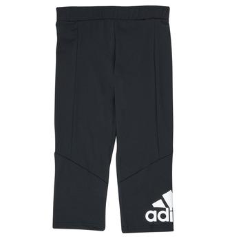 Textiel Meisjes Leggings adidas Performance G BL 34 TIG Zwart