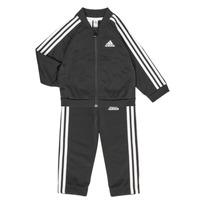 Textiel Kinderen Setjes adidas Performance 3S TS TRIC Zwart