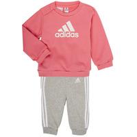 Textiel Meisjes Setjes adidas Performance BOS JOG FT Roze