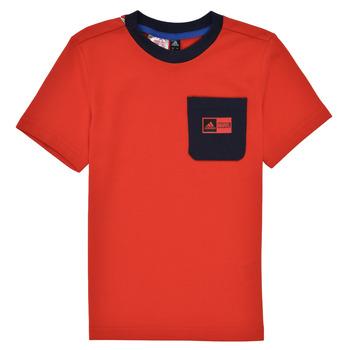 Textiel Jongens Setjes adidas Performance LB DY SHA SUM Rood / Marine