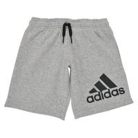 Textiel Jongens Korte broeken / Bermuda's adidas Performance B BL SHO Grijs