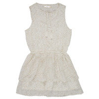 Textiel Meisjes Korte jurken Deeluxe JESTA Wit