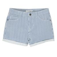 Textiel Meisjes Korte broeken / Bermuda's Deeluxe BILLIE Wit / Blauw