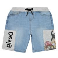 Textiel Jongens Korte broeken / Bermuda's Desigual 21SBDD02-5053 Blauw
