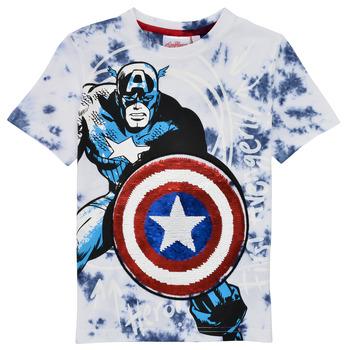 Textiel Jongens T-shirts korte mouwen Desigual 21SBTK09-5036 Multicolour