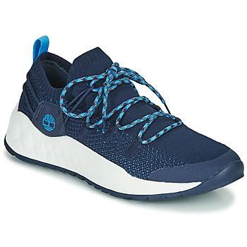 Schoenen Heren Lage sneakers Timberland SOLAR WAVE LOW KNIT Blauw