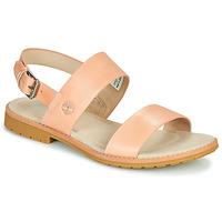 Schoenen Dames Sandalen / Open schoenen Timberland CHICAGO RIVERSIDE 2 BAND Roze